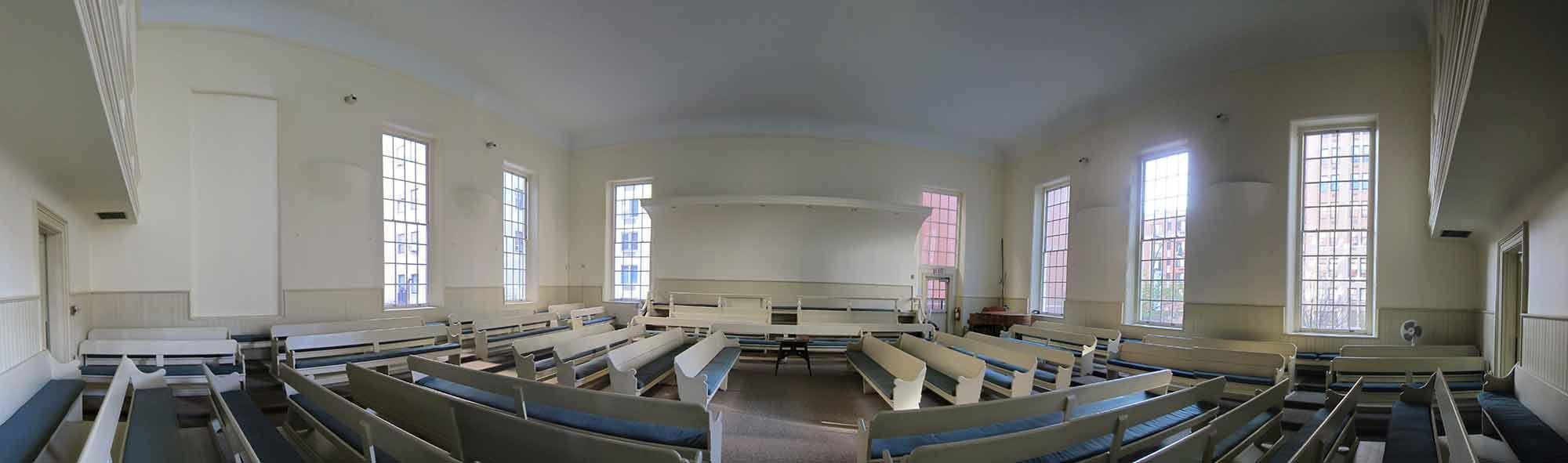 Panorama of Brooklyn Meeting Room